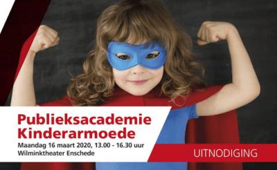 Uitnodiging: Publieksacademie Kinderarmoede