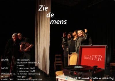Theatervoorstelling: Zie de mens in Almelo